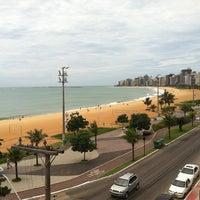 Photo taken at Praia da Costa by José G. on 12/20/2011