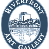 Photo taken at Riverfront Art Gallery by Craig M. on 10/21/2011