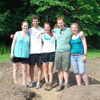 Photo taken at Skidmore Student Garden by Skidmore College on 8/18/2011
