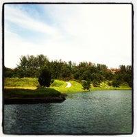 Photo taken at Swan Lake, Heritage by ZendersKL on 10/23/2011