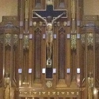 Photo taken at Queen of Angels Parish by JoAnna S. on 4/6/2012