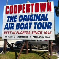 Photo taken at Coopertown Air Boat by Ozlem O. on 12/1/2011