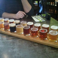 Photo taken at Portsmouth Brewery by Katie L. on 10/6/2011