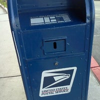 Photo taken at Mail Box infront of Albertsons by Jeremy P. on 1/21/2012