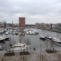 Photo taken at Jachthaven Willemdok by Andreas. on 4/19/2012