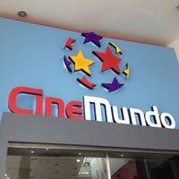 Photo taken at CineMundo by Maria A. on 4/28/2012