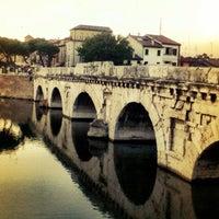 Photo prise au Ponte di Tiberio par Norbert le7/11/2012