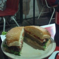 Photo taken at Bronto Burgers by Bico D. on 9/5/2011