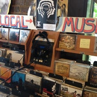 Photo taken at Grimey's New & Preloved Music by Rebecca on 9/2/2012