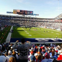Photo taken at New Era Field by Christine Marie D. on 11/9/2011