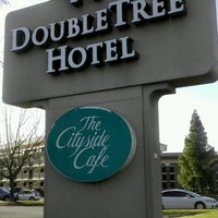 Photo taken at DoubleTree by Hilton Hotel Sacramento by ✈--isaak--✈ on 1/28/2012
