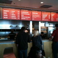 Photo taken at Chipotle Mexican Grill by Bryant T. on 4/18/2011