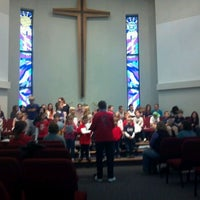Photo taken at Lord Of Love Lutheran Church by Abe D. on 12/3/2011