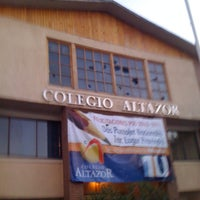 Photo taken at Colegio Altazor by Marco Antonio G. on 9/14/2011