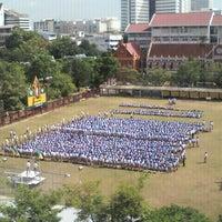 Photo taken at Debsirin School by Tachit on 6/25/2012