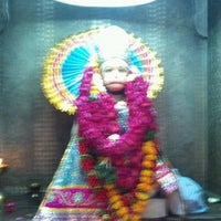 Photo taken at Sri hanuman temple by Hemanshu S. on 4/17/2012