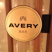 Photo taken at Avery Bar by Omar on 11/25/2011