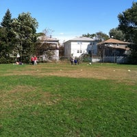 Photo taken at Gunnel Oval by Bob C. on 10/16/2011