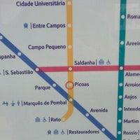 Photo taken at Metro Picoas [AM] by João S. on 5/2/2011
