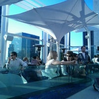 Photo taken at ROOF on theWit by Leyla A. on 10/6/2011