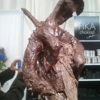 Photo taken at The Chocolate Show by Michael D. on 11/12/2011