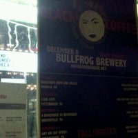 Photo taken at Bullfrog Brewery by Vince C. on 12/9/2011