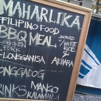 Photo taken at Maharlika Filipino Moderno by Tina P. on 10/21/2011
