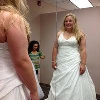 Photo taken at David's Bridal by Cristina Q. on 4/5/2012