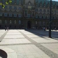 Photo taken at Hamburger Rathaus by ღAnnettღ S. on 5/28/2012