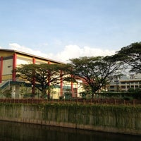 Photo taken at Crescent Girls' School by Yap P. on 3/5/2012