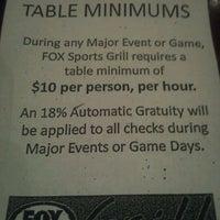 Photo taken at Fox Sports Grill by Kapri J. on 1/15/2012