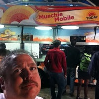 Photo taken at TODAY Munchie Mobiles at Night by iGoByDoc on 3/12/2012