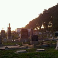 Photo taken at Castroville Cemetery by Morgan C. on 11/15/2011