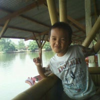 Photo taken at Situ Sawangan by Sukria C. on 9/25/2011