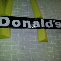 Photo taken at McDonald's by Kaelie K. on 1/29/2012