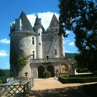 Photo taken at Château des Milandes by Laurent M. on 8/3/2012