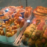 Photo taken at Auntie Anne's by Christine on 1/28/2012