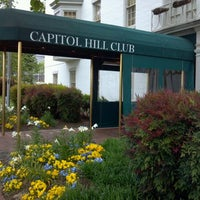Photo taken at Capitol Hill Club by Allan K. on 4/30/2012