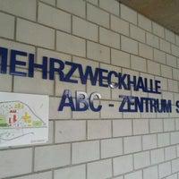 Photo taken at Mehrzweckhalle ABC-Zentrum Spiez by C. F. on 4/30/2012