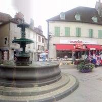 Photo taken at Saint-Pourçain-sur-Sioule by Jaap L. on 8/5/2012