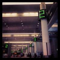 Photo taken at Baggage Claim by Audunn J. on 5/8/2012