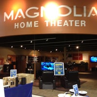Photo taken at Magnolia Home Theater by Tim M. on 6/19/2012