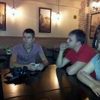 Photo taken at Кафе «Гурман» by Vasiliy E. on 11/18/2011