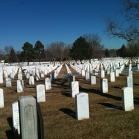 Photo taken at Fort Logan National Cemetery by Wolf S. on 1/7/2011
