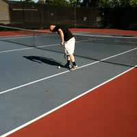 Photo taken at Campbell Community Center Tennis Courts by Jerett B. on 6/8/2012