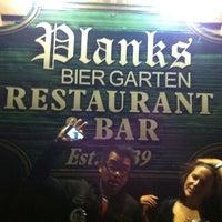 Photo taken at Plank's Bier Garten by Vicki S. on 9/18/2011