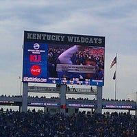 Photo taken at Commonwealth Stadium by Sarah R. on 11/27/2011