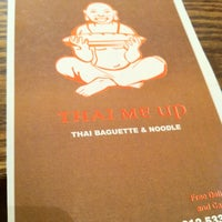 Photo taken at Thai Me Up by Built F. on 2/13/2011