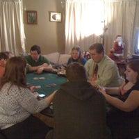 Photo taken at The Poker Frog Room by Gerrit V. on 1/1/2011