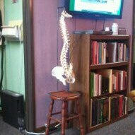 Photo taken at Bolt Chiropractic Family Wellness by Natalie P. on 9/15/2011